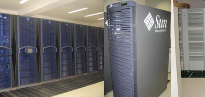 スーパーコンピュータシステム 2003 年 1 月 ~ 2008 年 12 月