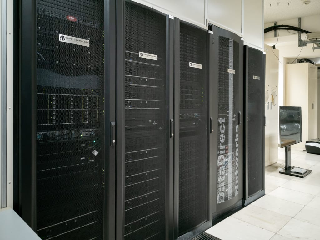 Compute nodes and storage in Shirokane5