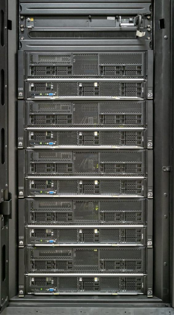 Compute nodes with GPU V100 in Shirokane5